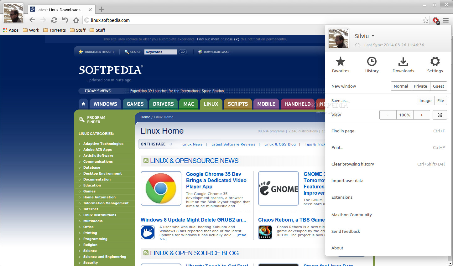 Maxthon cloud browser officially released on linux Linux browser