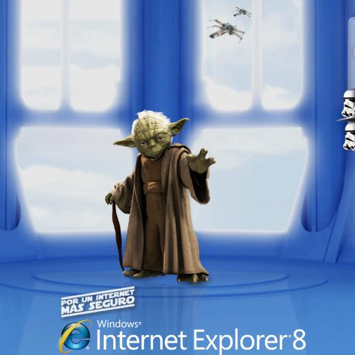 May the ie8 force be with you softpedia