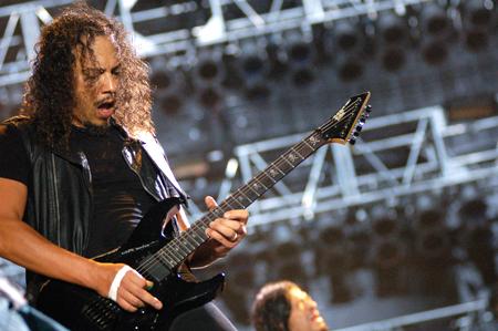 Kirk Hammett (Historia y Guitarras)