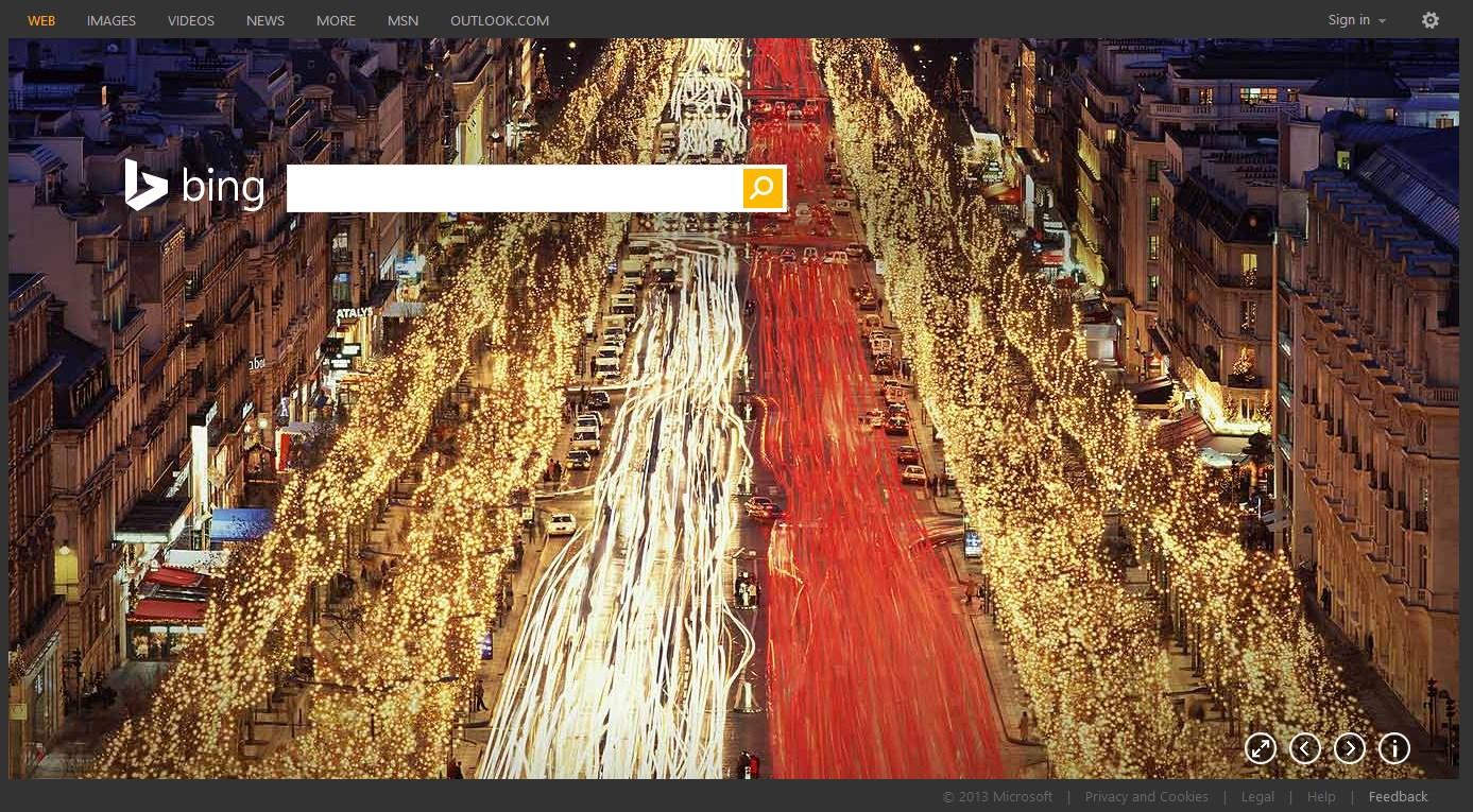 Microsoft Releases Bing 2013 Homepages Wallpaper Pack