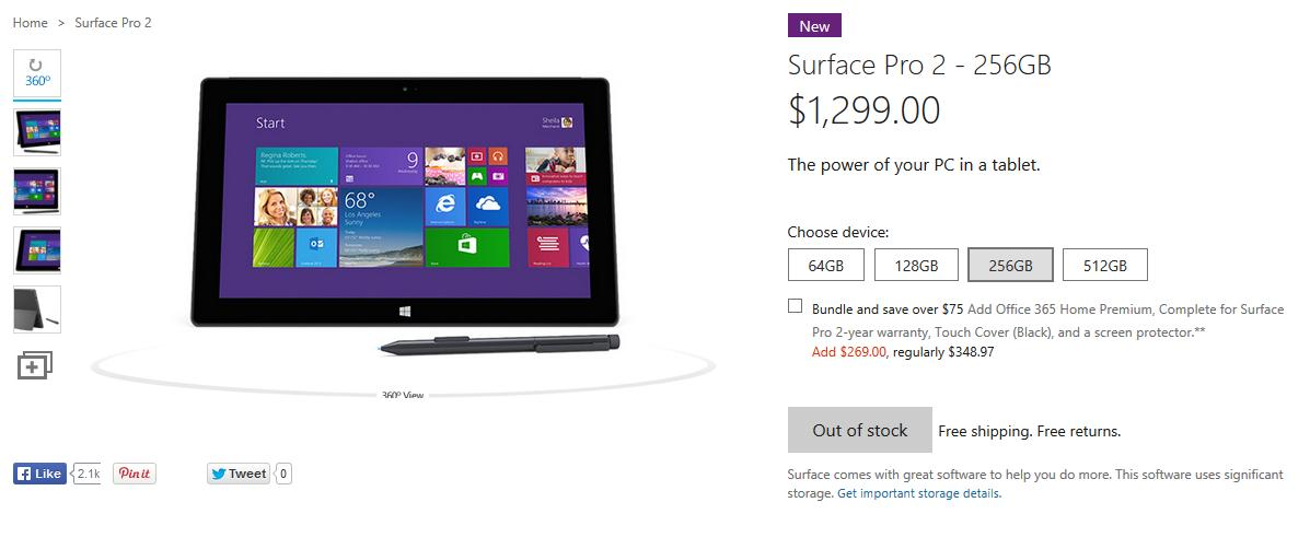Microsoft-Still-Struggling-to-Cope-with-Surface-Pro-2-Stock-Issues