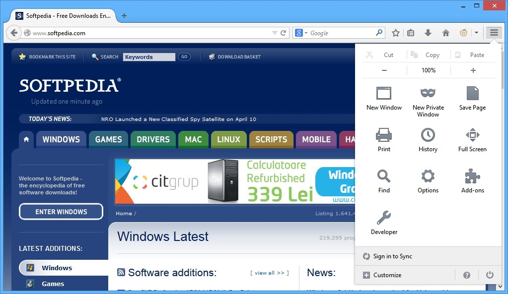 Mozilla Firefox 31 Stable Now Available for Download ...