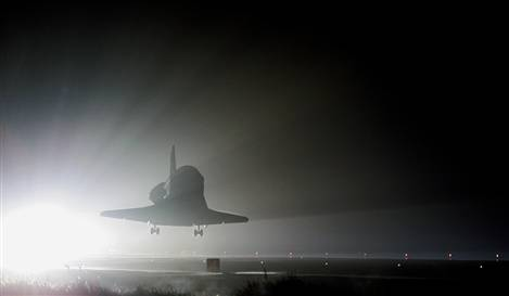 Nasa schedules last 10 missions for space shuttle