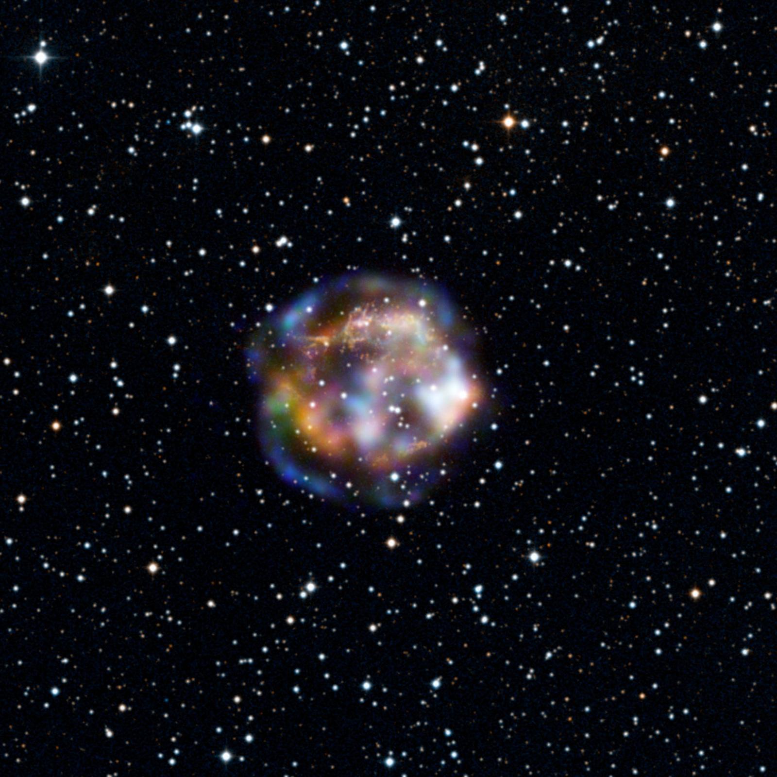 Nasa 39 s latest stunning photo of the massive supernova for Why was nasa created