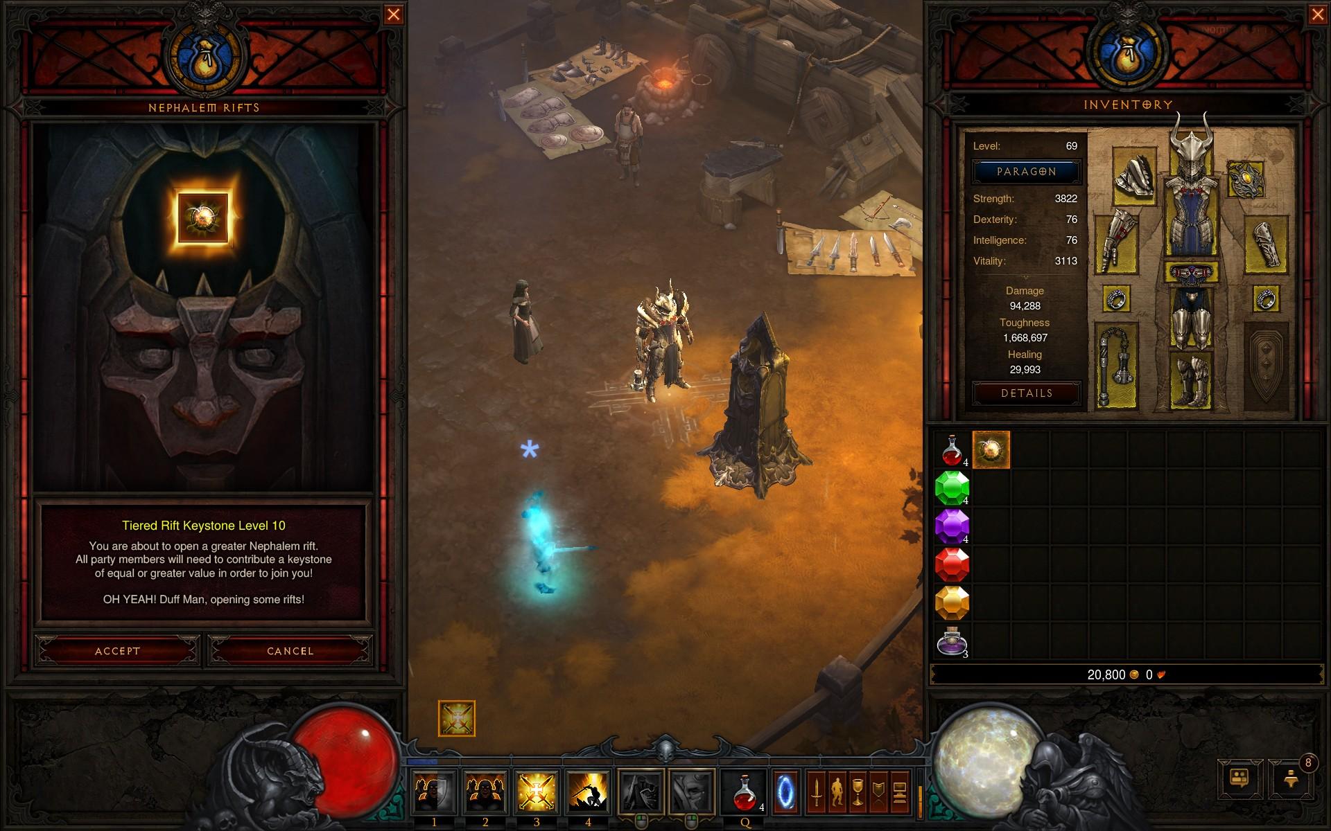 Diablo 3 naked run challenge requirements nudes video