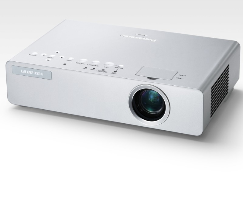 Panasonic 39 s latest projectors are wireless ultra portable for Latest pocket projector