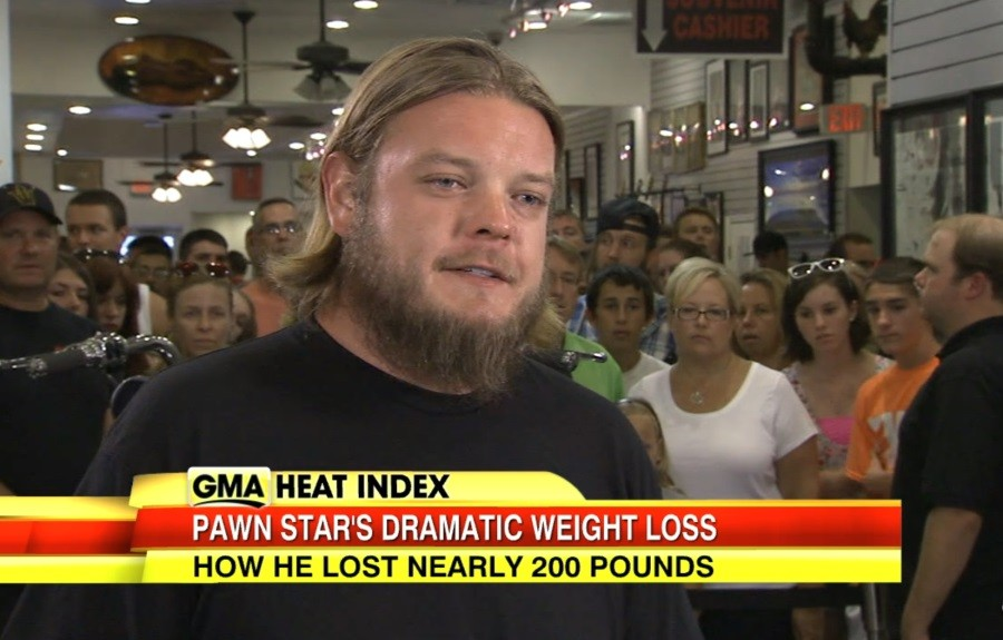 Pawn Stars Corey Weight Loss
