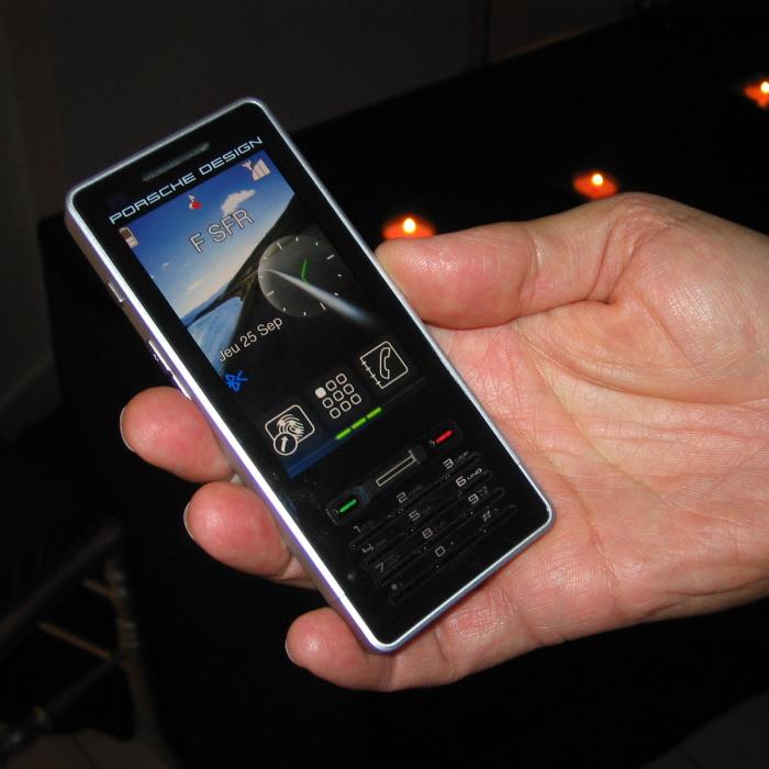 Porsche Teams Up With Sagem For P9522 Mobile Phone Softpedia