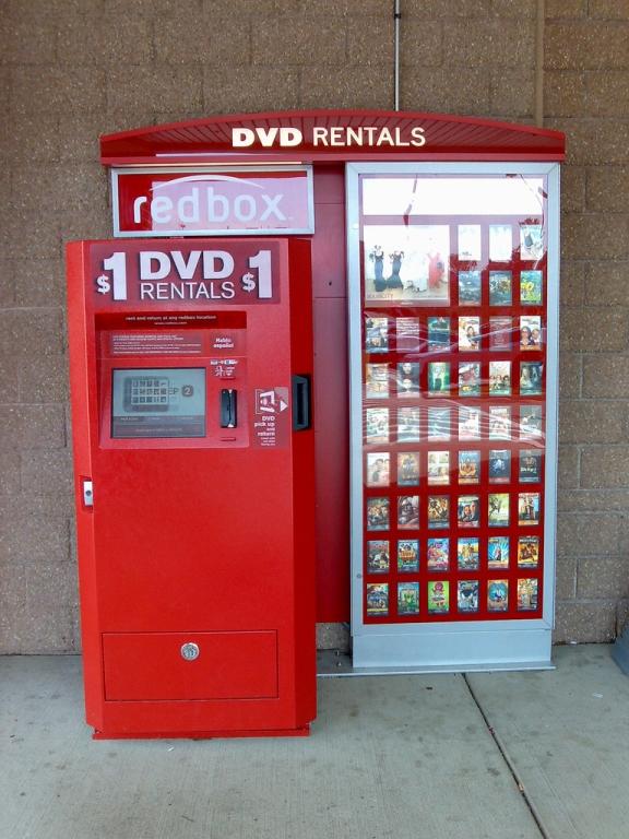 own a redbox vending machine