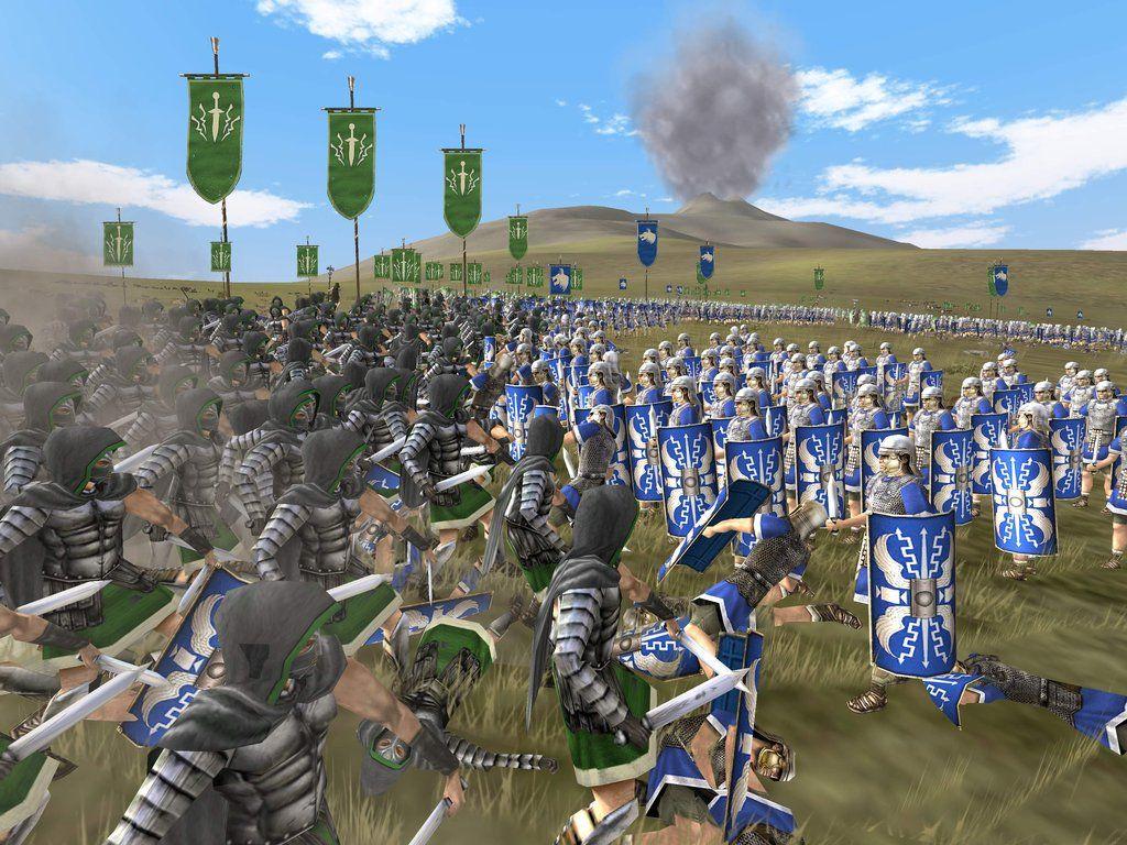 roman battle games
