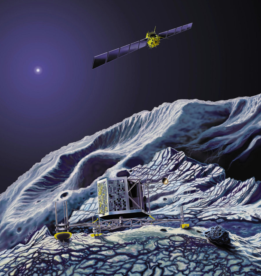 philae comet lander nasa - photo #17
