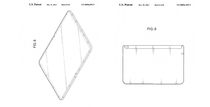 Samsung Awarded Patent for Futuristic Foldable Tablet