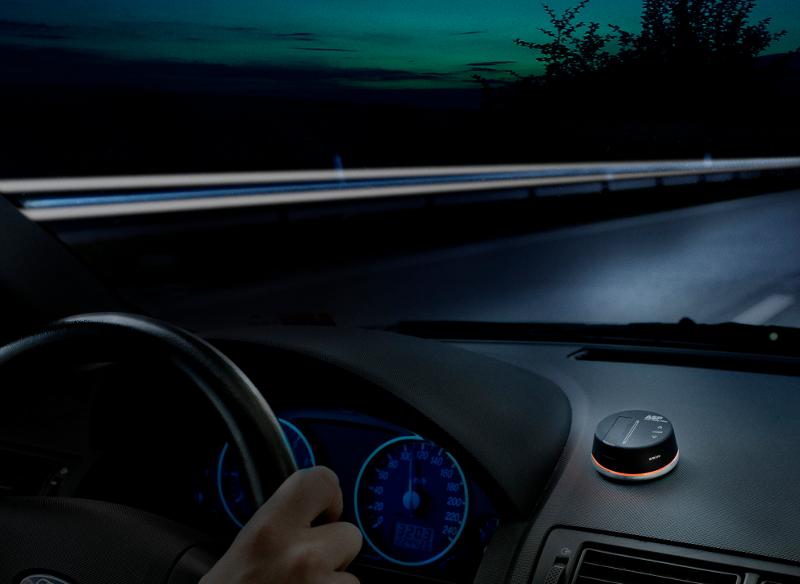 Stay awake while driving gadget