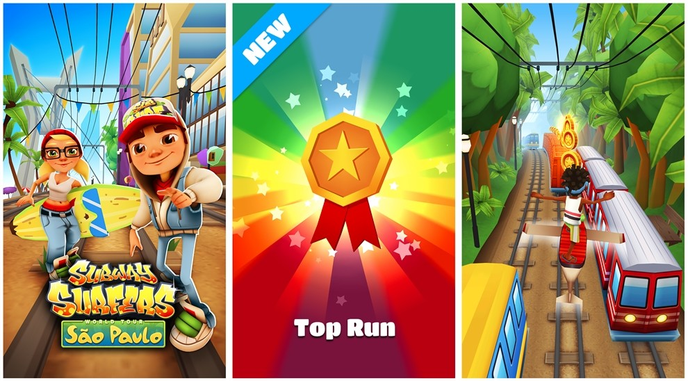Subway Surfers 1.25.0.0 for Windows Phone Takes You to ...