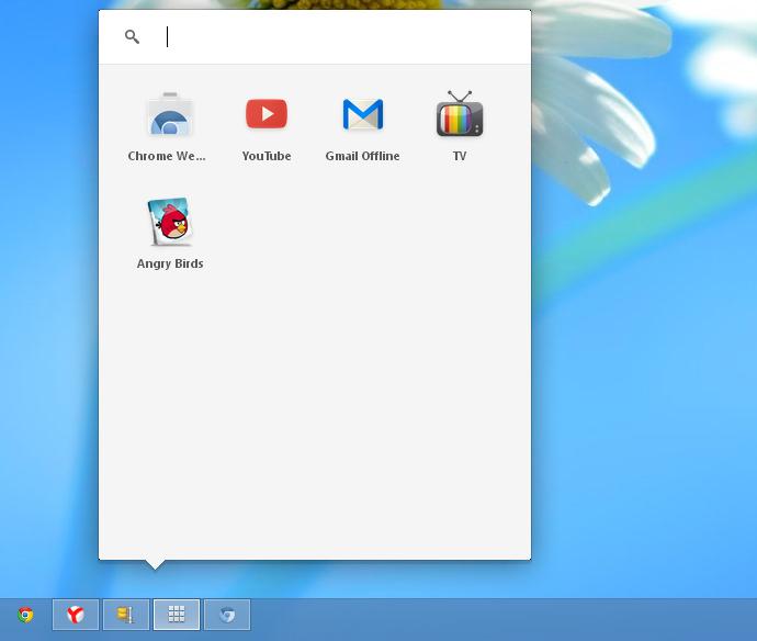 Chrome Apps Launcher Windows