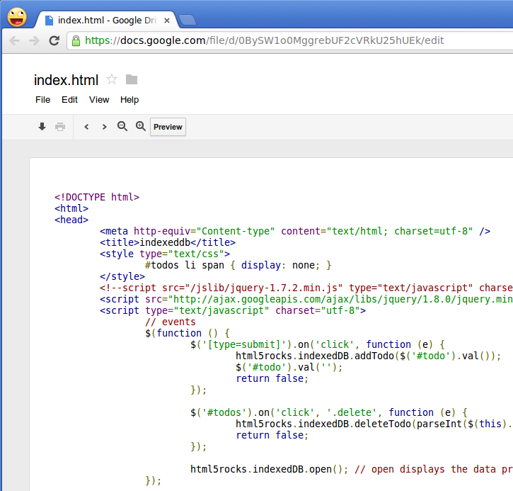 how to host html website on google drive