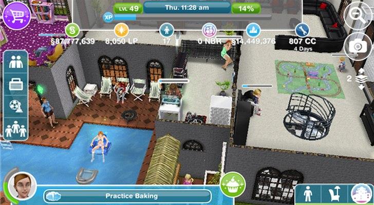 the sims free play windows 10 phone