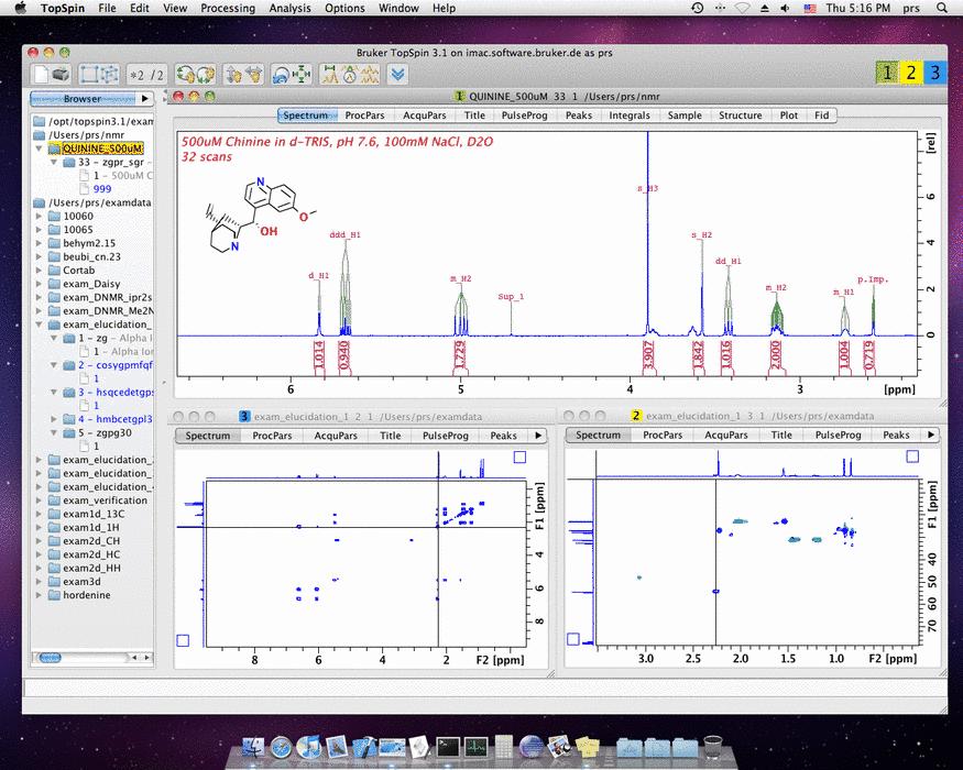 NMR software downloads Bruker