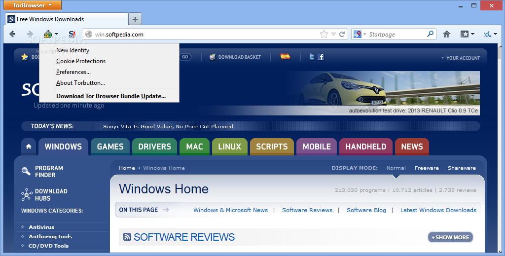 Tor Browser Bundle 2.4.17 Beta 1 Released for Download ...