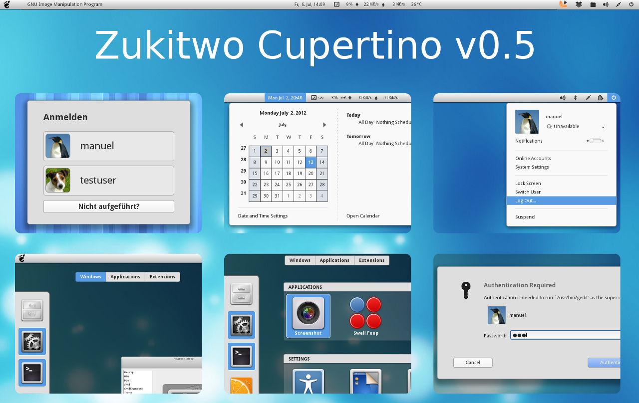 Turn Your GNOME Distro into Mac OS X with Zukitwo ...
