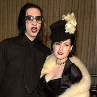 Marily Manson and Dita Von Teese