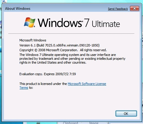 Unreleased Windows 7 Beta Versions====Xclusive Look Windows-7-Build-7025-Is-Live-Forget-Beta-Build-7000-3