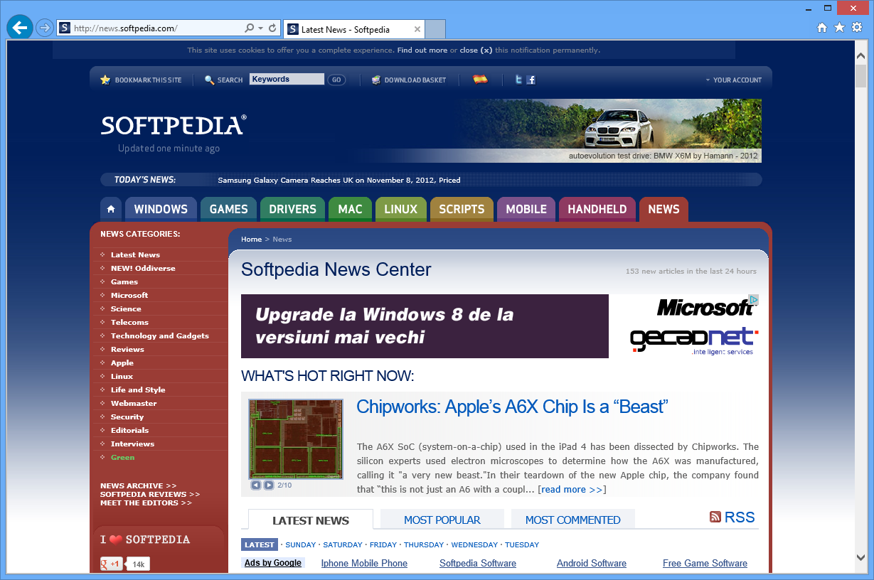 Windows 7 internet explorer 9 top the market despite new versions