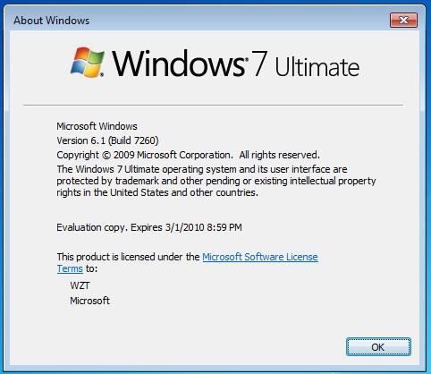 Windows 7 7600 Retail