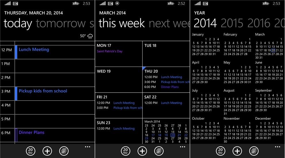 Windows Phone 8.1 Calendar App Bug Gets ...