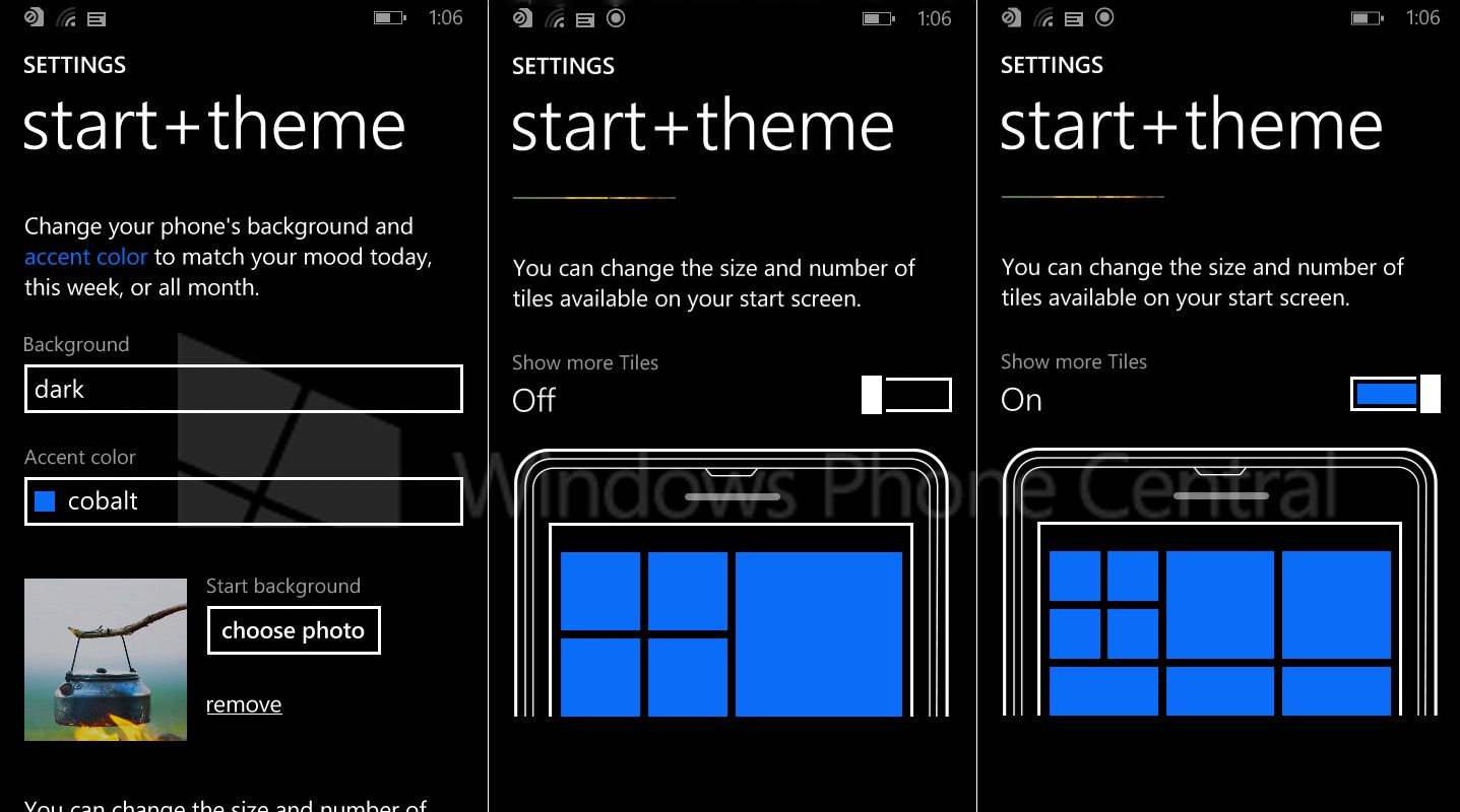 Windows Phone 8.1 Start Screen Backgrounds Leak in New ...