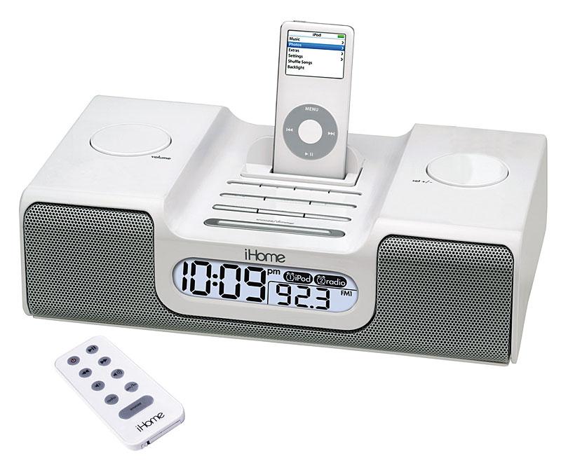 iHome iH8: iPod Dock with an Alarm Clock