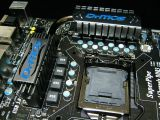 MSI motherboard pictured, supports USB 3.0 and SATA 6Gbps