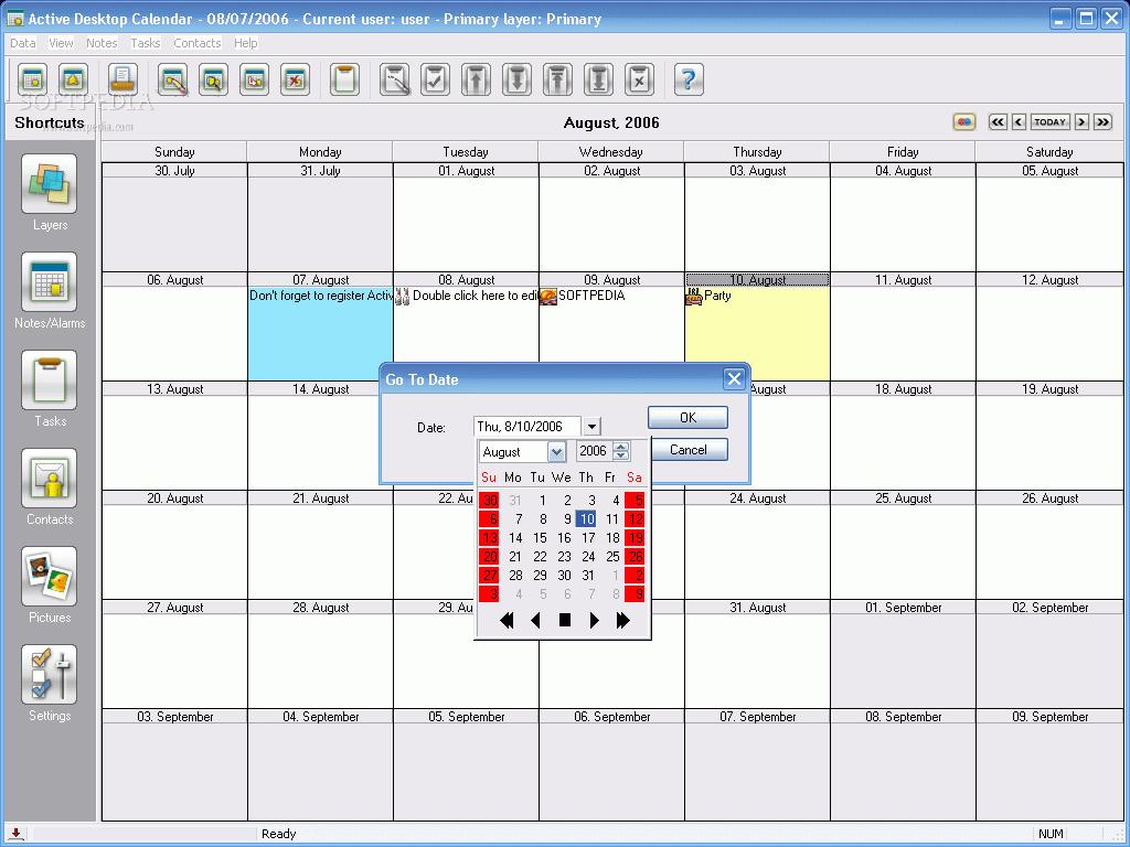 Desktop Calendar 7 : Active desktop calendar cracked yiyfk pastcoku