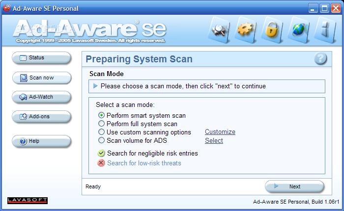 Adware Removal - Ad-aware SE Free Download