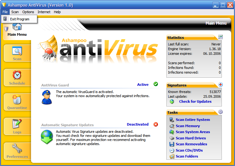 seek and destroy antivirus