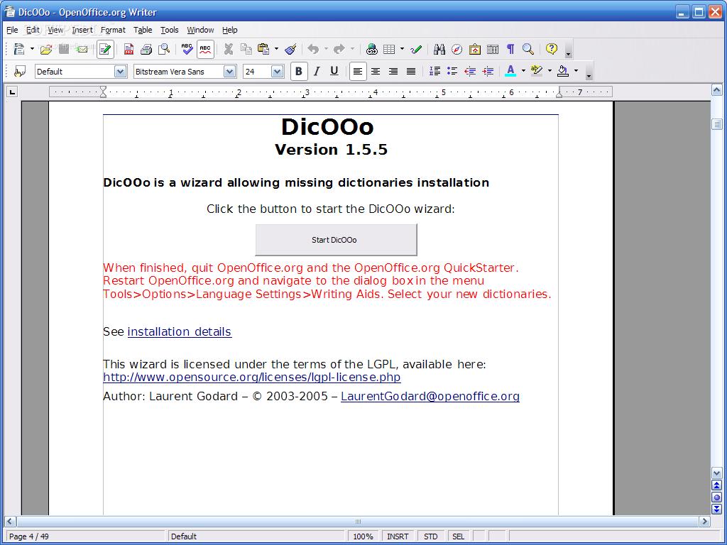 dicooo open office