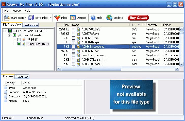 برنامج استعادة الملفات المحذوفة الفورمات Recover Files