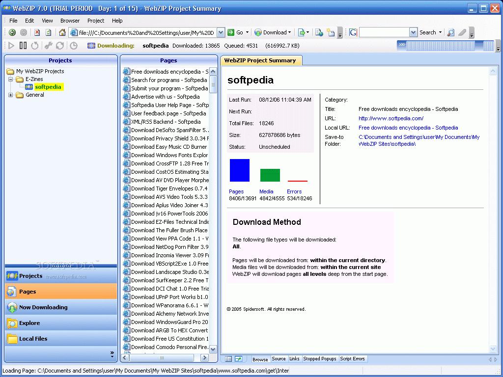 webzip 7.0