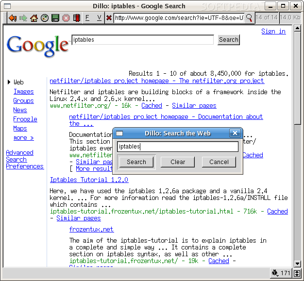 The Dillo web browser download | SourceForge.net