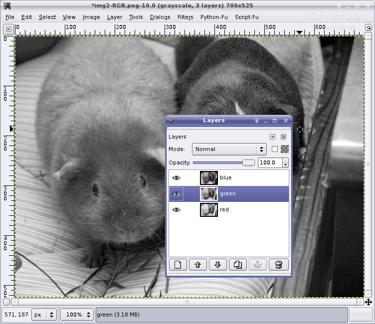 Learning GIMP - Convert Color Images to Black and White
