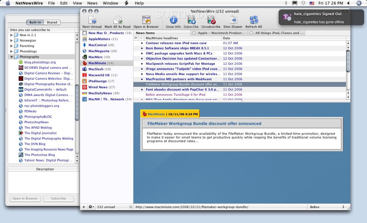 NetNewsWire for Mac