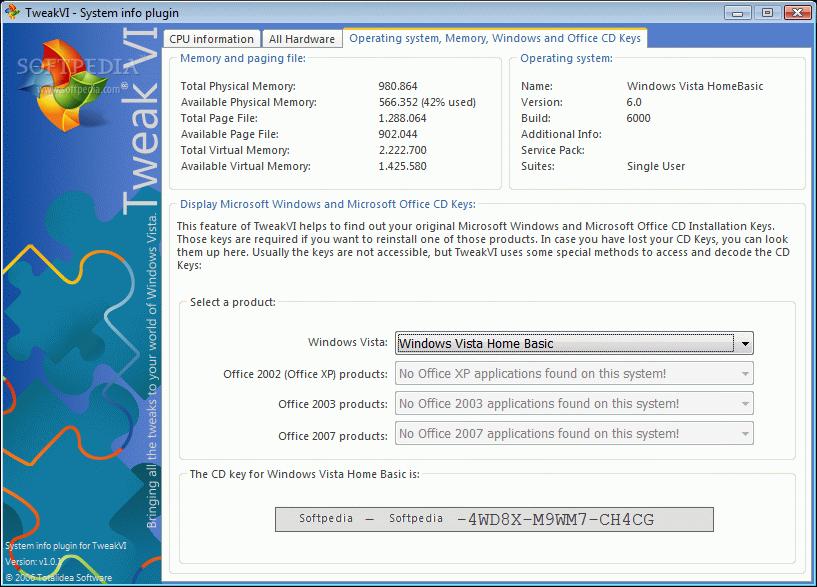 windows vista tm build 6000 product key free download