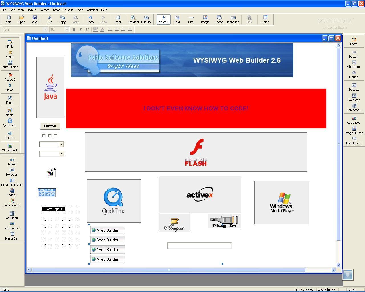 Wysiwyg Web Builder 262 Review